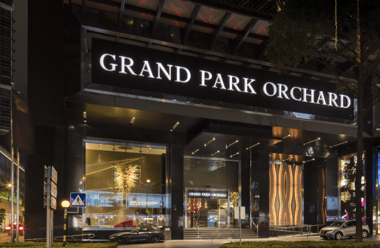 GRAND PARK <br> ORCHARD HOTEL